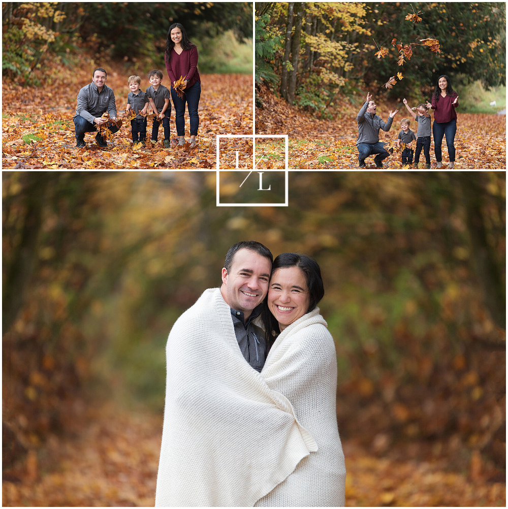 Fall Family Pictures in Seattle by Lincoln & Lucy