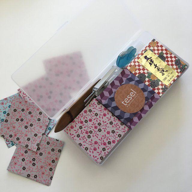 Sacabocado Sakura Cajas De Origami Cajas De Plastico Y Origami