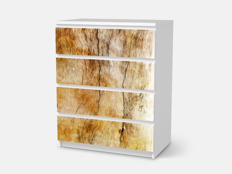 Marvelous Designfolie Unterholz f r deine IKEA Malm Malmkommode mit Schubladen