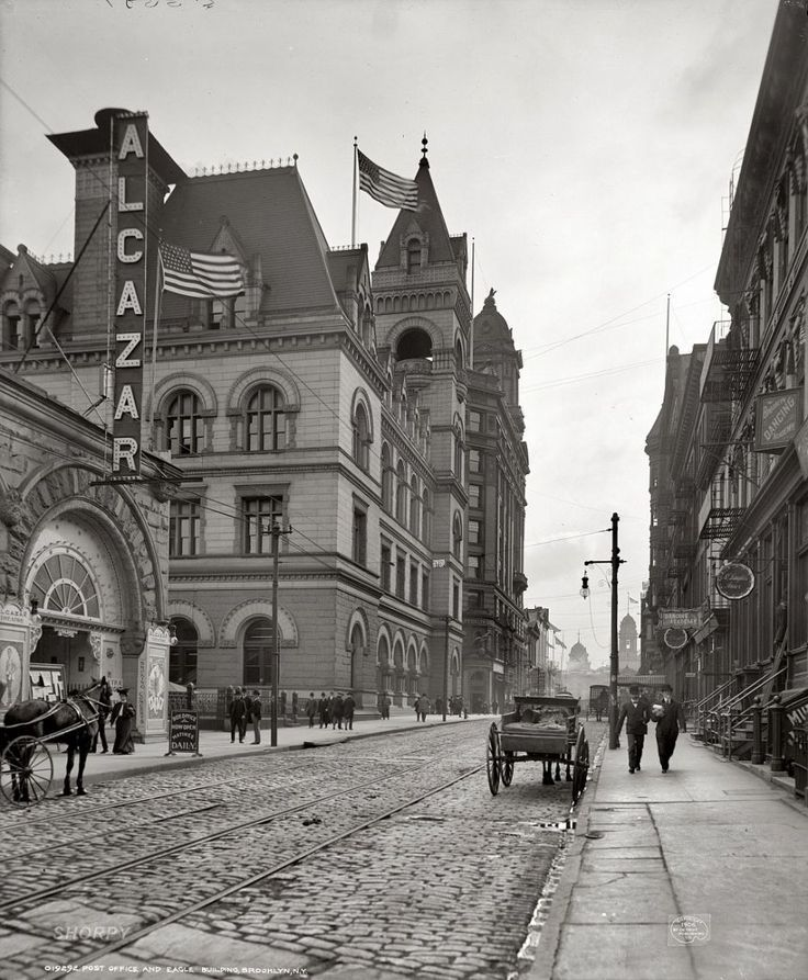 Post Office, Brooklyn, New York, 1906