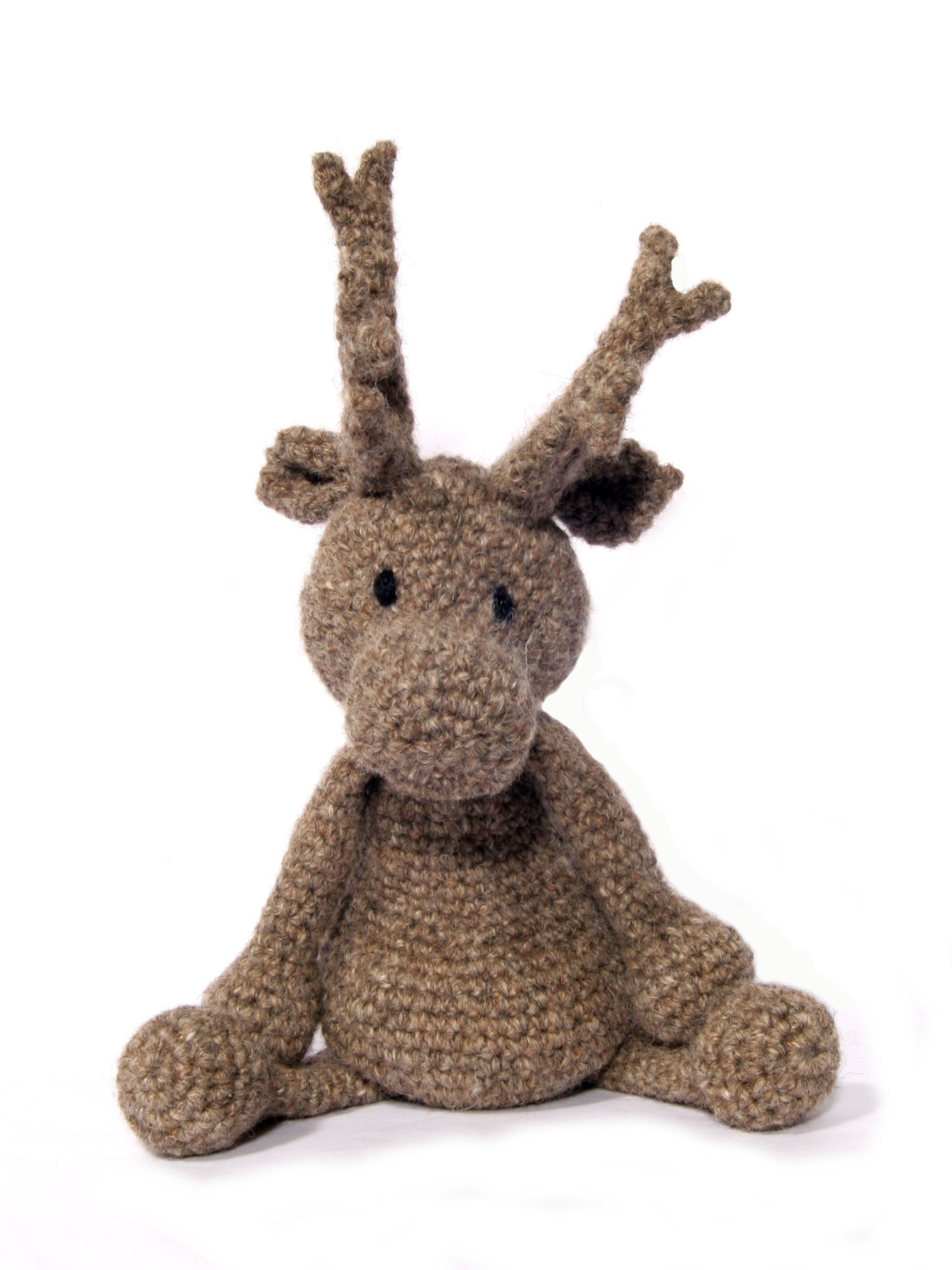 Donna the reindeer crochet kit made by the toft alpaca shop and kit crochet amigurumi nice christmas pressie for a keen hooker crochet reindeer amigurumi pattern luxury dk alpaca yarn in your choice of colour bankloansurffo Choice Image