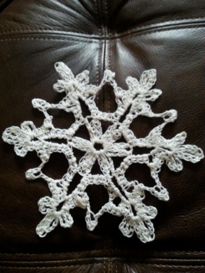 Snowflake ornament by Shirley