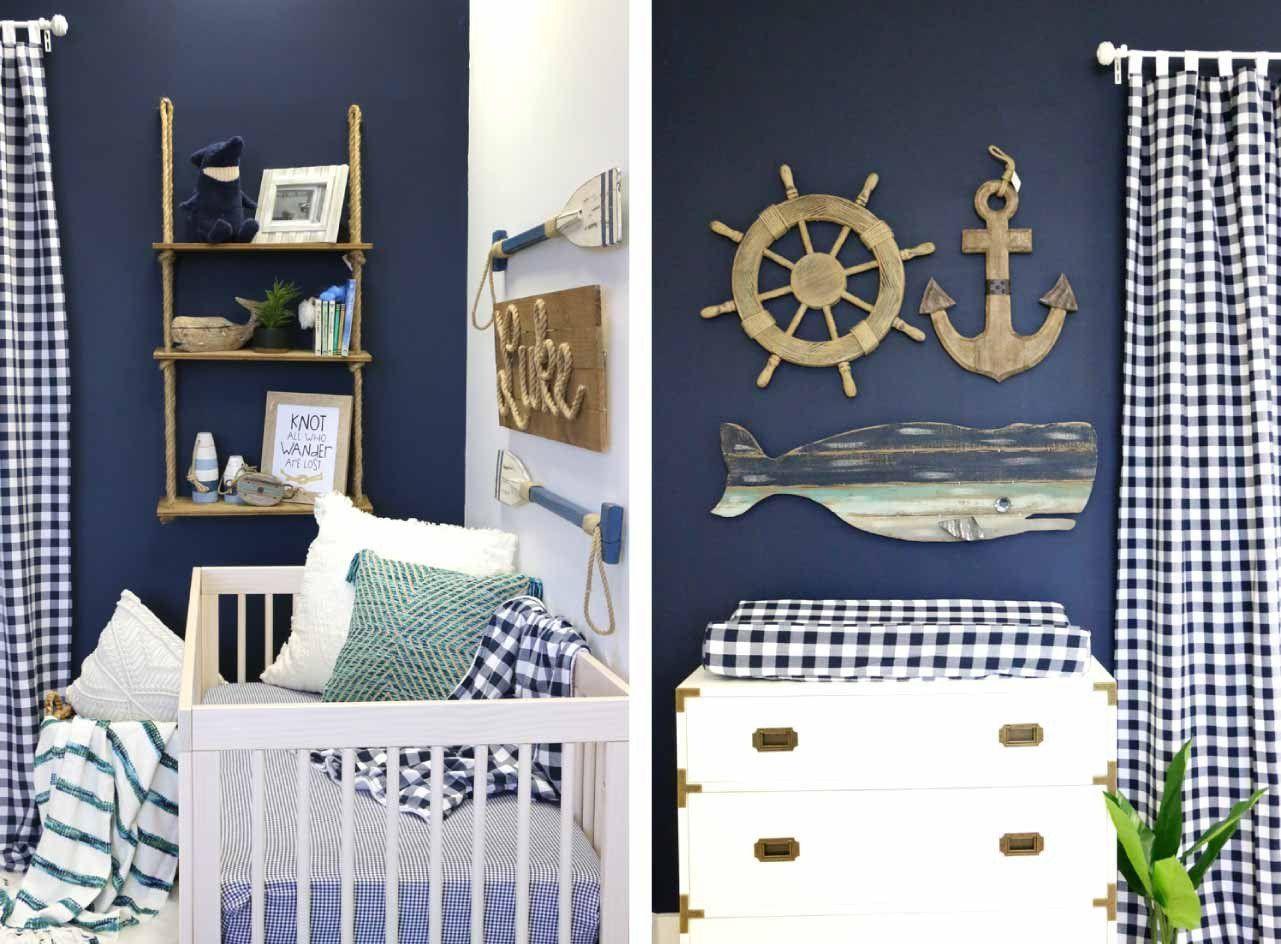 Luke S Navy Nautical Nursery