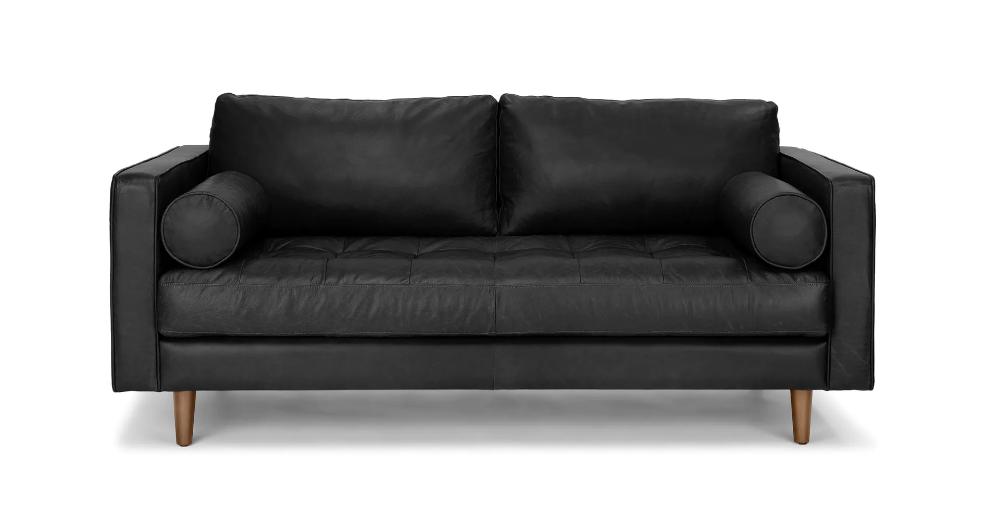 Photo of Sven Oxford Black Sofa