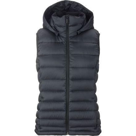 Burton AK Squall Down Hooded Vest - Women'sTrue Black