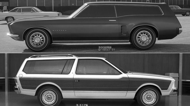 Ford Mustang station wagon concepts through the years  Fox News