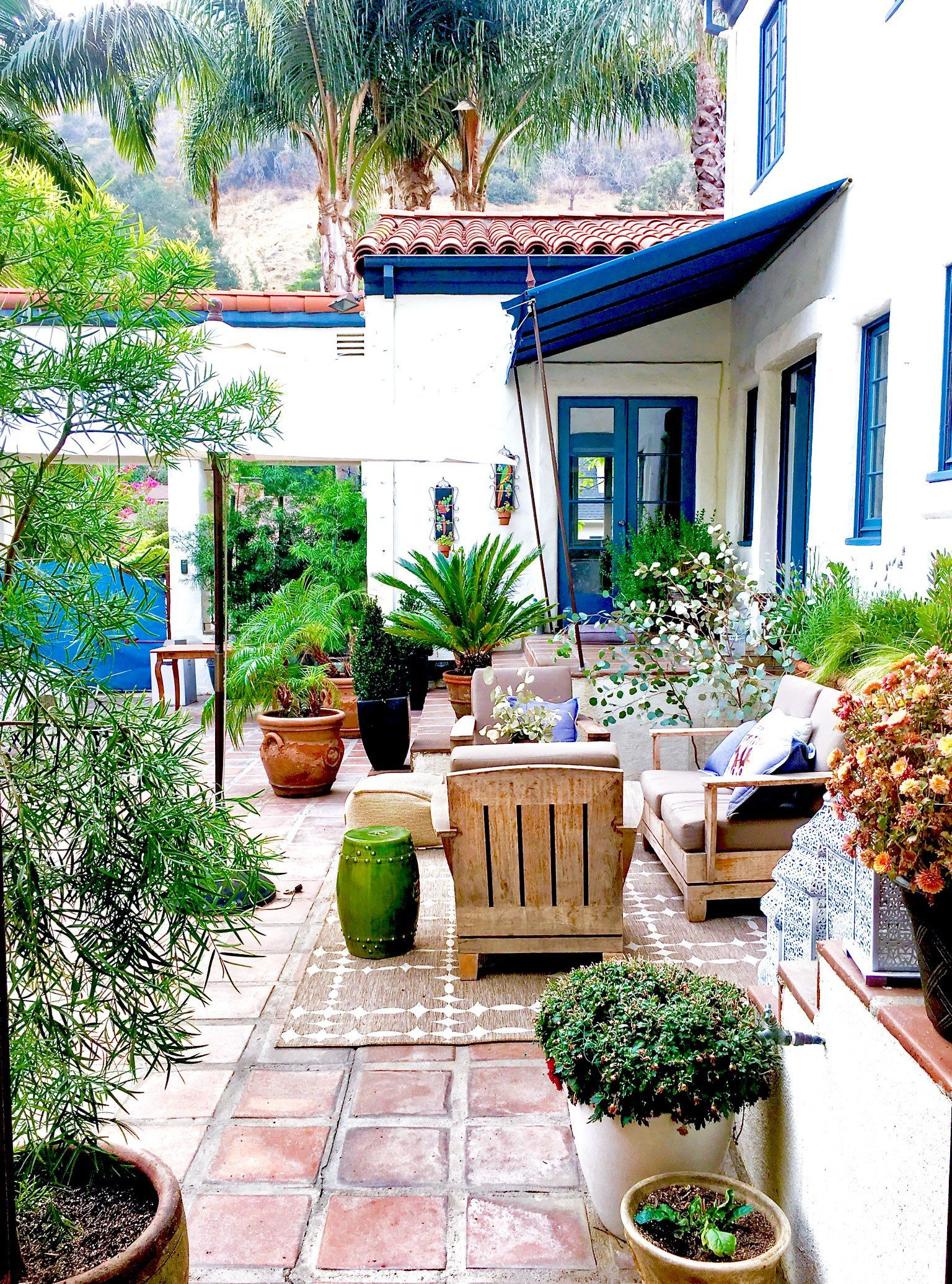 my courtyard noticing beauty from a different perspective rh pinterest com
