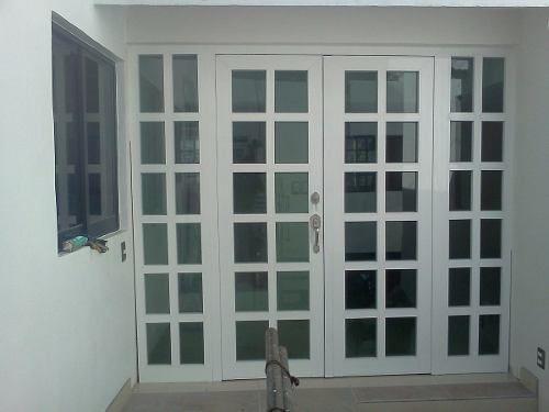 Resultado de imagen para puertas en aluminio y vidrio for Puertas de aluminio para interiores de casas