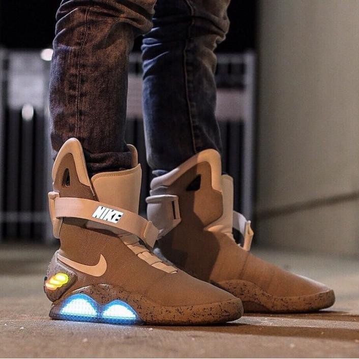 Nike Air Mag Back To The Future With Images Nike Air Mag Nike