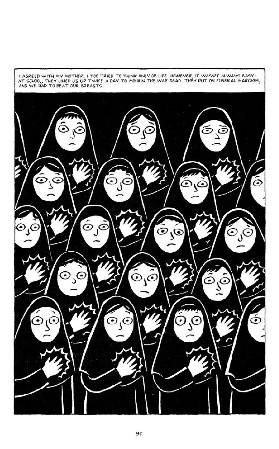 Satrapi Persepolis 1 English Graphic Books For Teens Picture Book