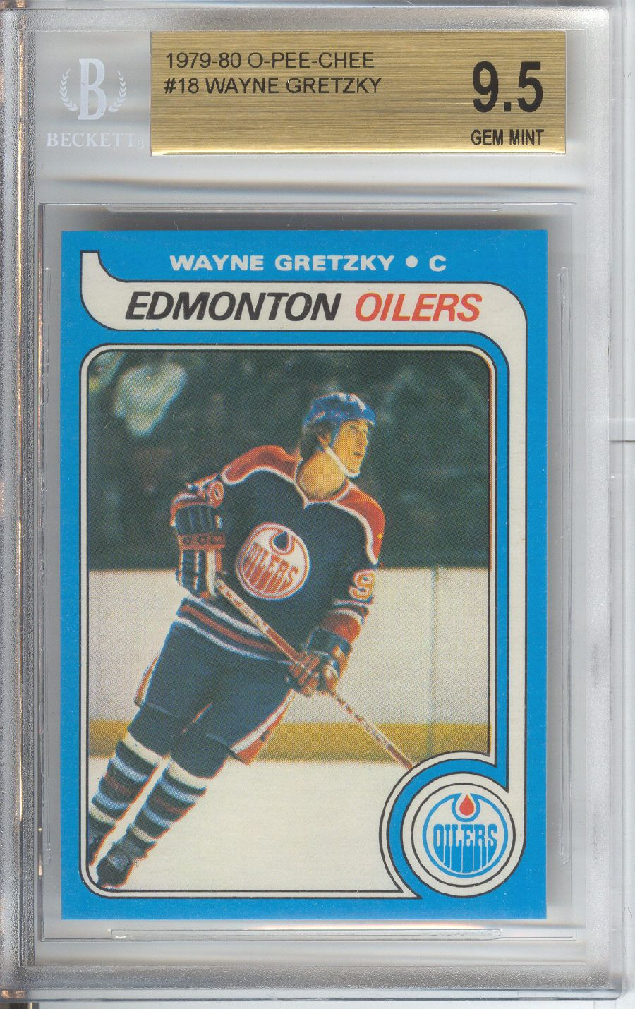 Wayne Gretzky Rookie Card Opc Bgs 95 Hockey Cards I Have