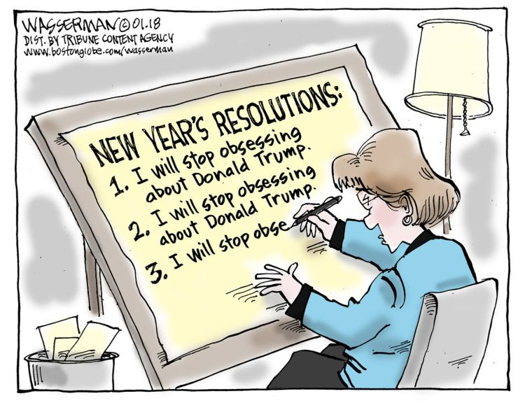 New Year Resolutions Political Cartoons Political News Cartoon