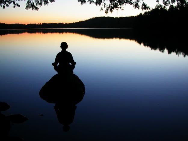 Meditate on a Rock