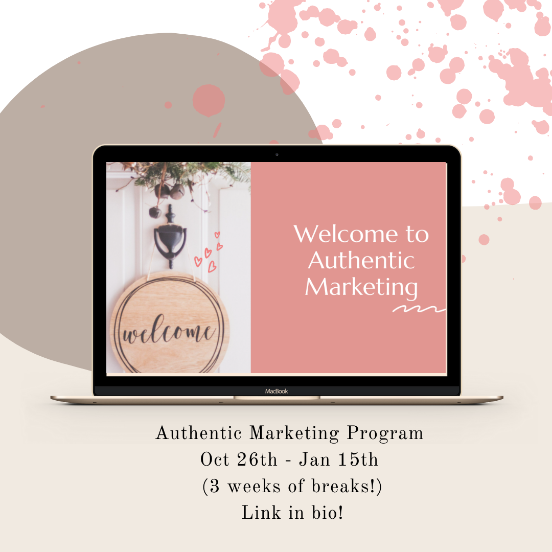 Do you market your products and services in an authentic, honest, and transparent way? It's the best way to connect with people who REALLY get you and what you're trying to do in your business, and the world. #mompreneur #smallbusinessmarketing #bossbabe #womeninbiz #creativeentrepreneur #marketingtips #marketingdigital #influencermarketing #entrepreneur #entrepreneurlife #business