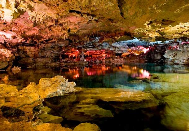 visit the cenotes, the sacred Mayan underground rivers, Cancun