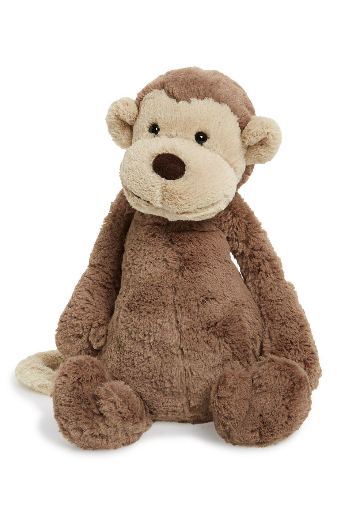 Jellycat Large Bashful Monkey Stuffed Animal Nordstrom Monkey Stuffed Animal Elephant Plush Monkey Plush