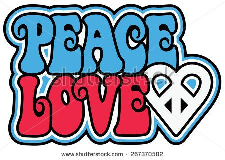 Stock Images Similar To Id 53210917 Peace Sign And Text In Red