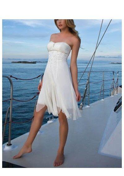 short beach wedding dress   Wedding Dress Shopping Tips   Pinterest ...