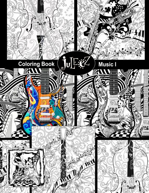10 Pack Printable Adult Coloring Printable, Adult Coloring Pages ...