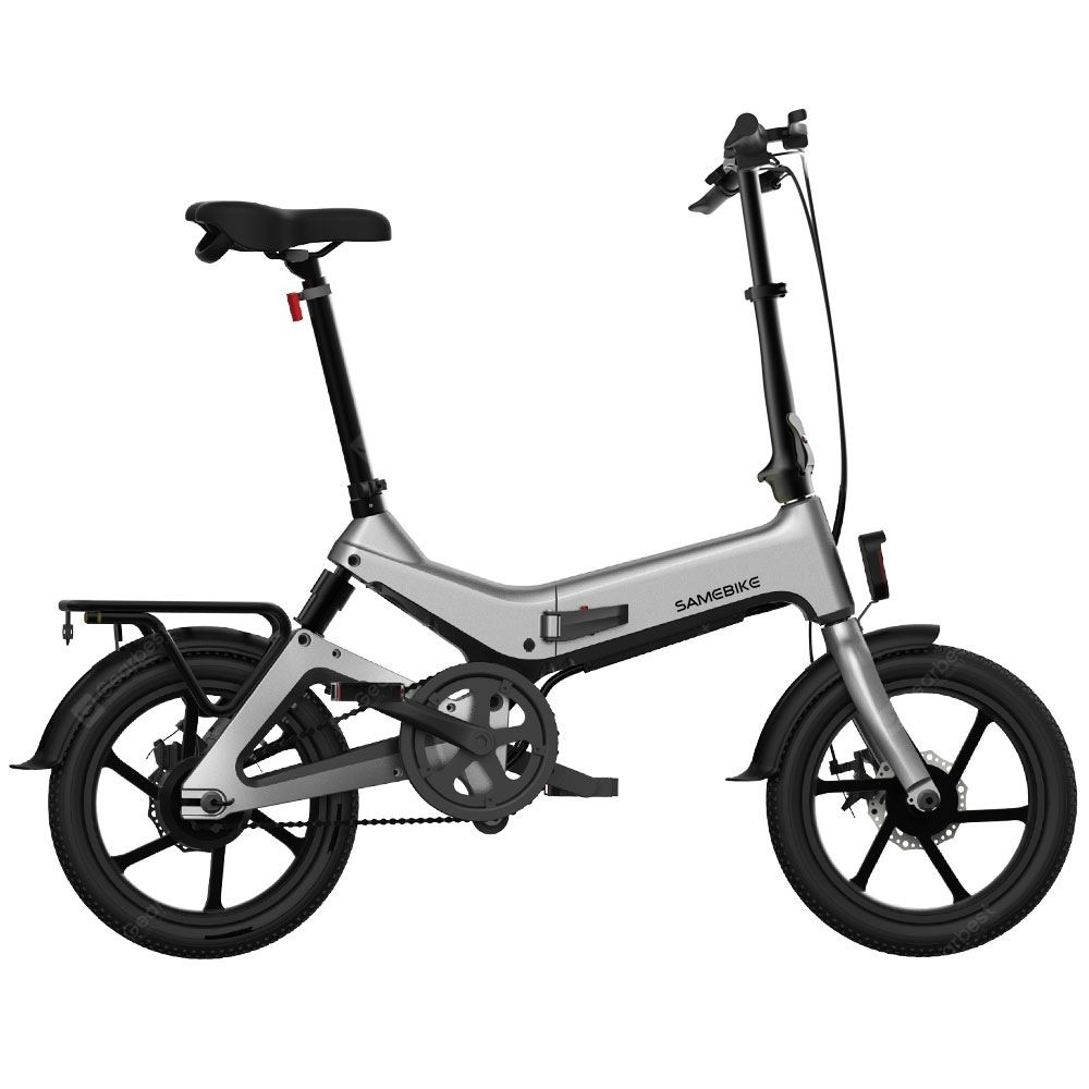 Samebike Jg7186 Folding Electric Moped Bike 250w Motor 25km Per