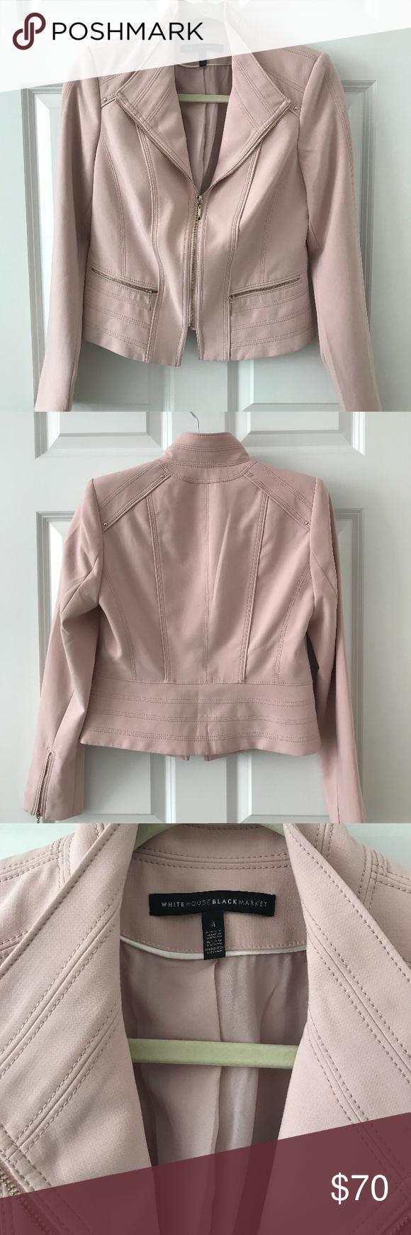 White House Black Market fitted jacket Worn once, like new condition! White House Black Market Jackets & Coats