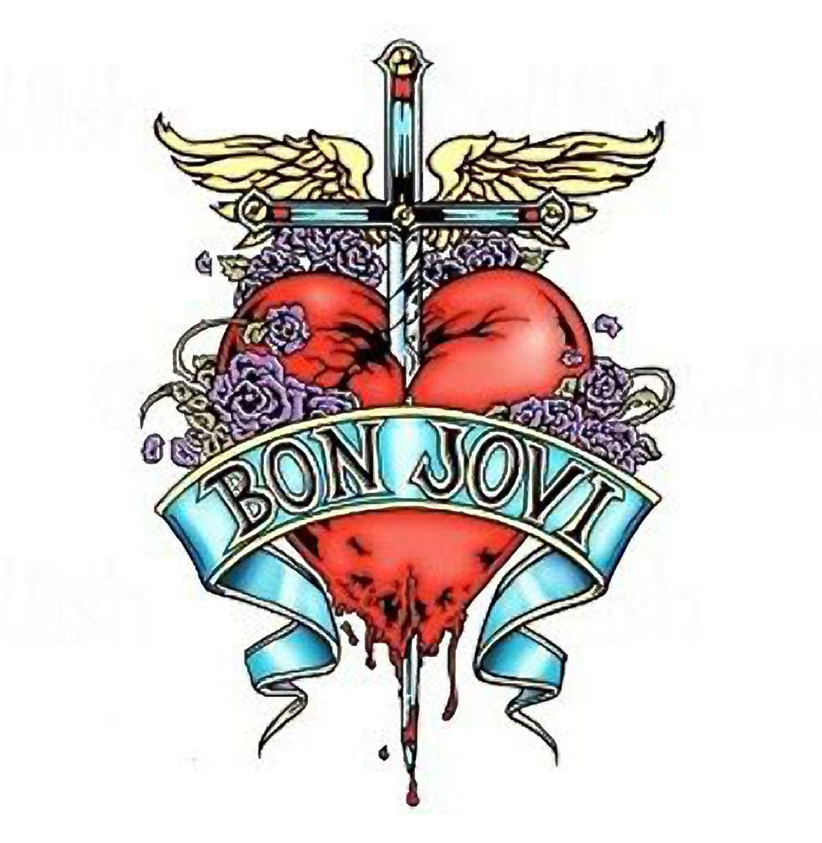 bon jovi logo 1 193 1 224 pixels jon bon jovi pinterest. Black Bedroom Furniture Sets. Home Design Ideas