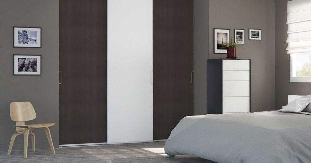 Placard sur-mesure coulissant Porte coulissantes de placard sur - comment poser des portes de placard