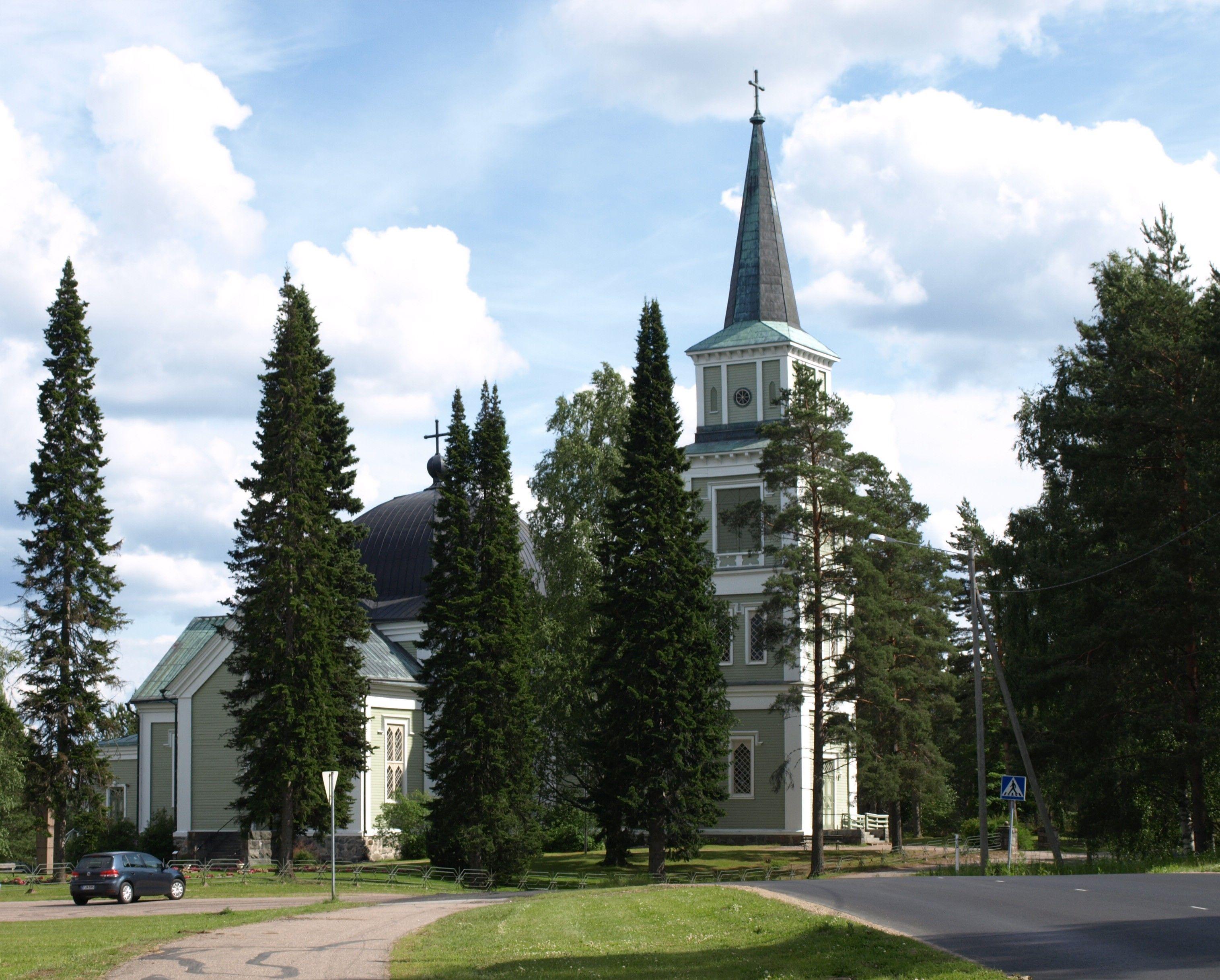 Ruokolahden kirkko, Suomi Finland