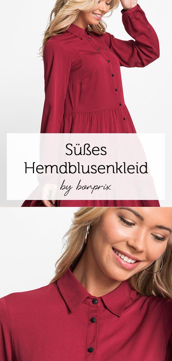 Blusenkleid | Blusenkleid, Kleider, Kleid punkte