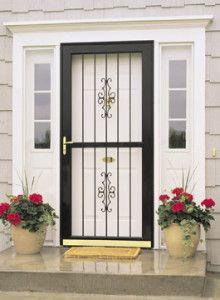 Burglar Proof Gate Storm Door Installation Security Door Design