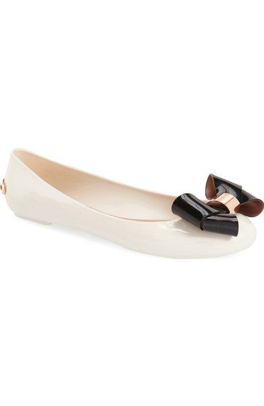69cc7a3b5ed471 Ted Baker London  Faiyte  Bow Jelly Flat (Women) available at  Nordstrom