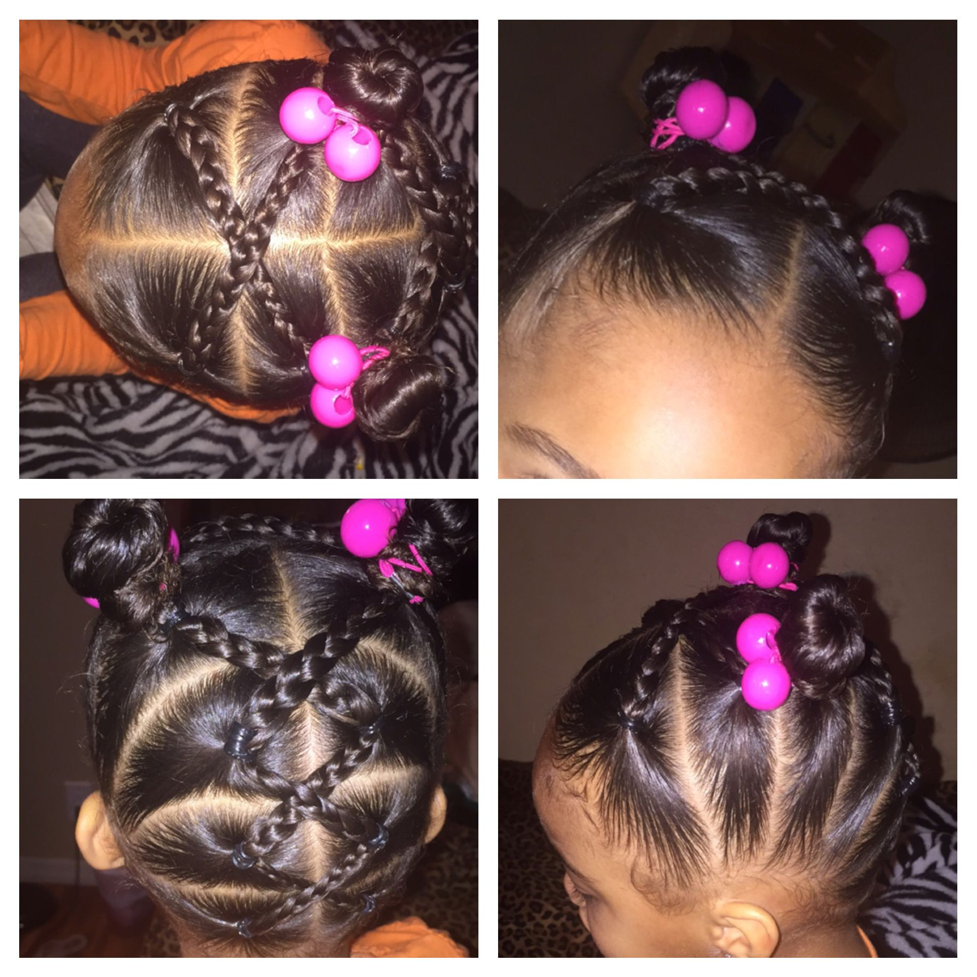 Mixed girl hairstyles Ana Pinterest Cabello Pelo afro and