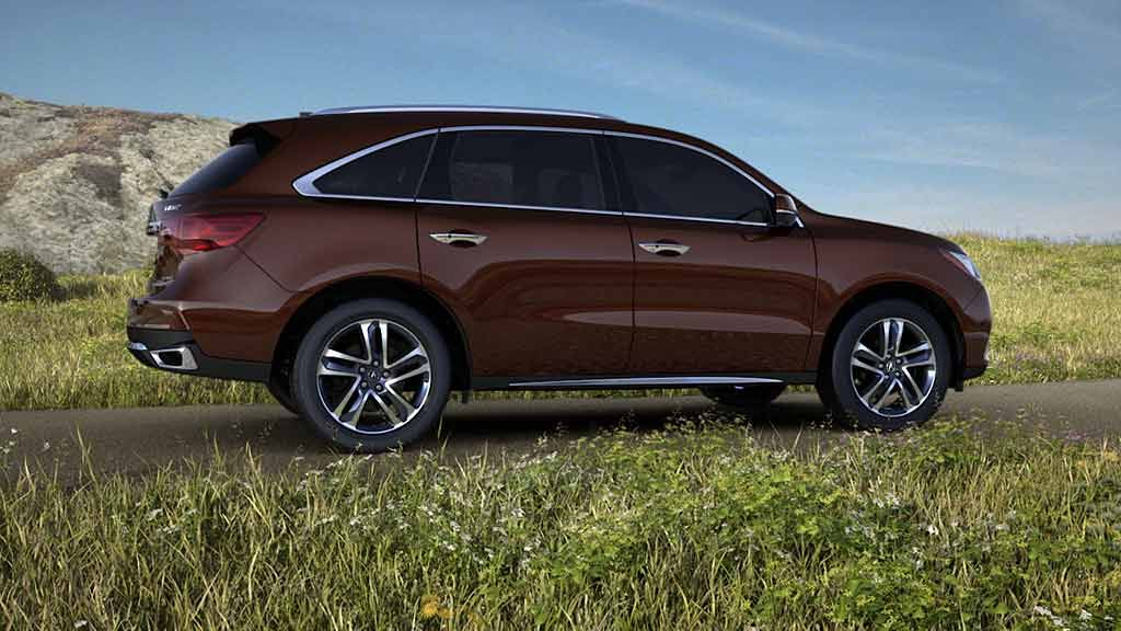 Black Copper Pearl Best 3rd row suv, 3rd row suv, Acura