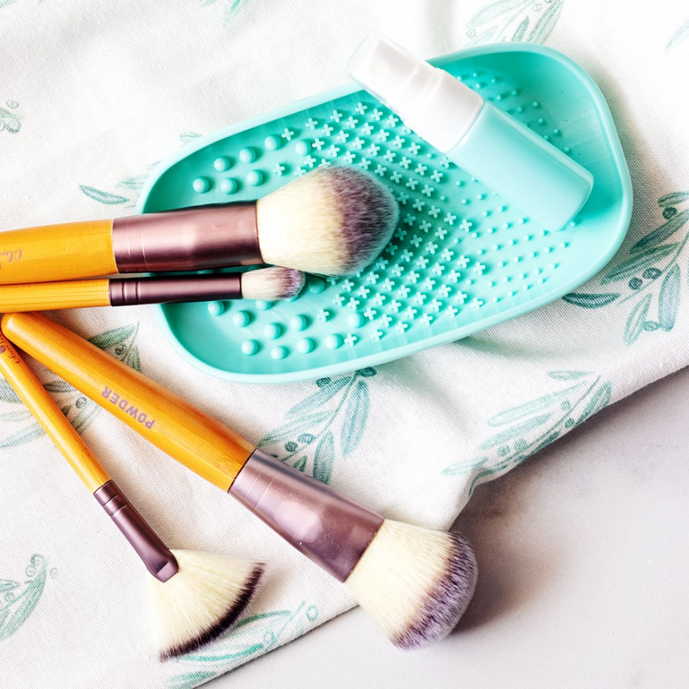I love using this DIY makeup brush cleaner spray to keep
