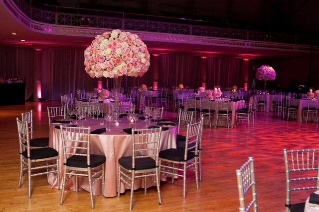Red Rose Centerpieces Instead