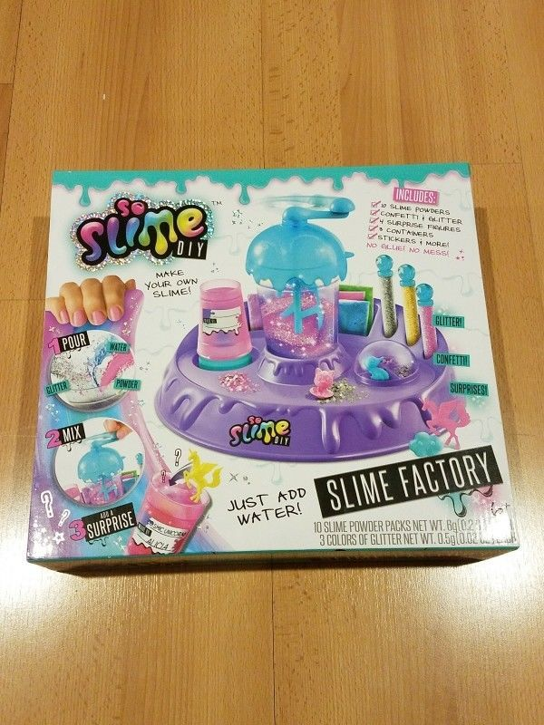 b681505cabcec SO SLIME DIY - SLIME FACTORY - MAKE YOUR OWN SLIME NO GLUE NO MESS ...