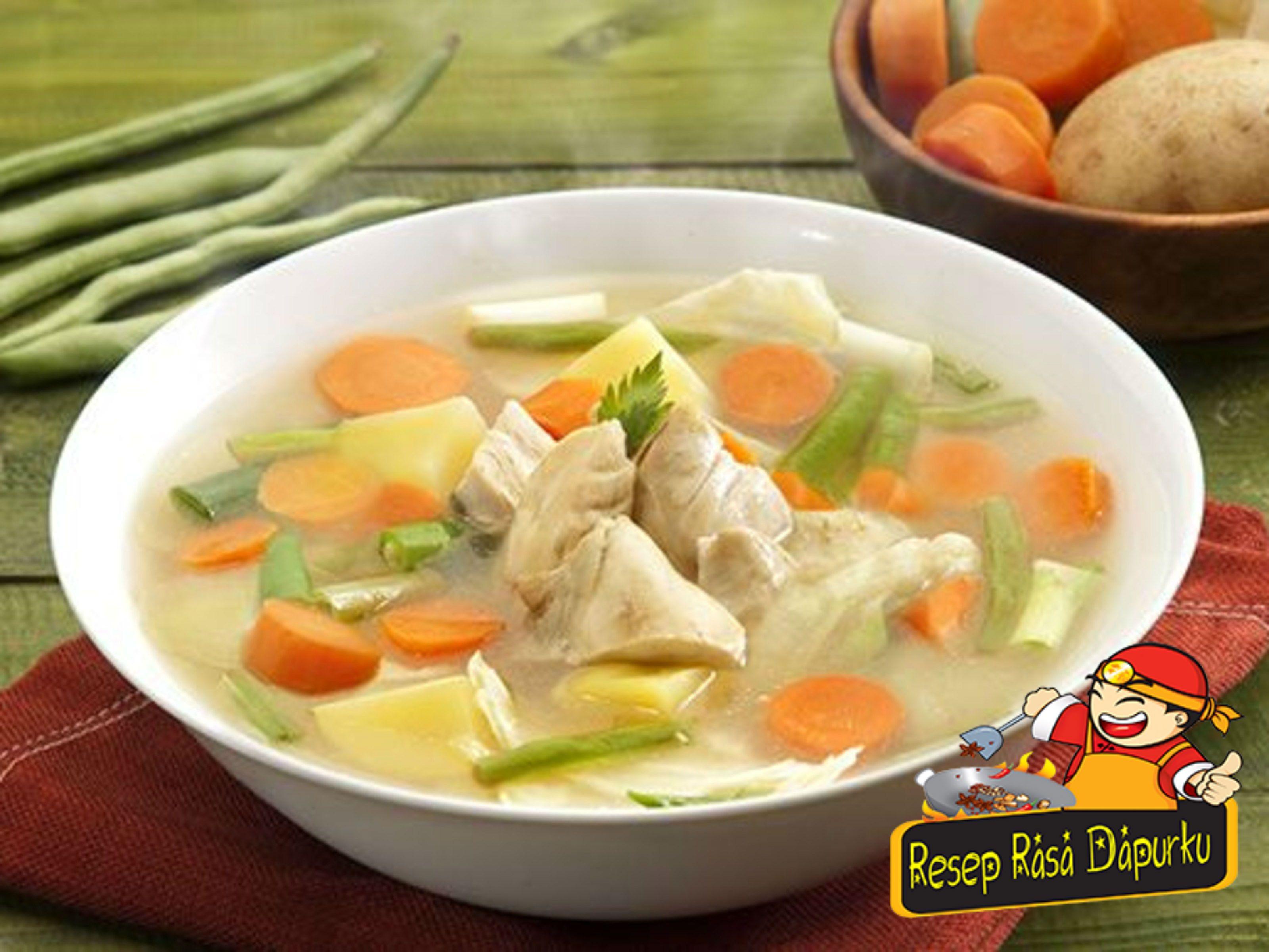 Resep Sup Ayam Bening Yang Enak Seafood Recipes Easy Mac N Cheese Recipe Food