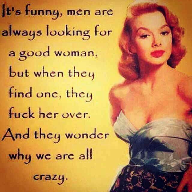 Wonder why we are all crazy