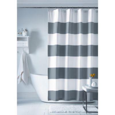 wholeHome style factory (TM/MC) 'Cabana Stripe' Shower Curtain ...