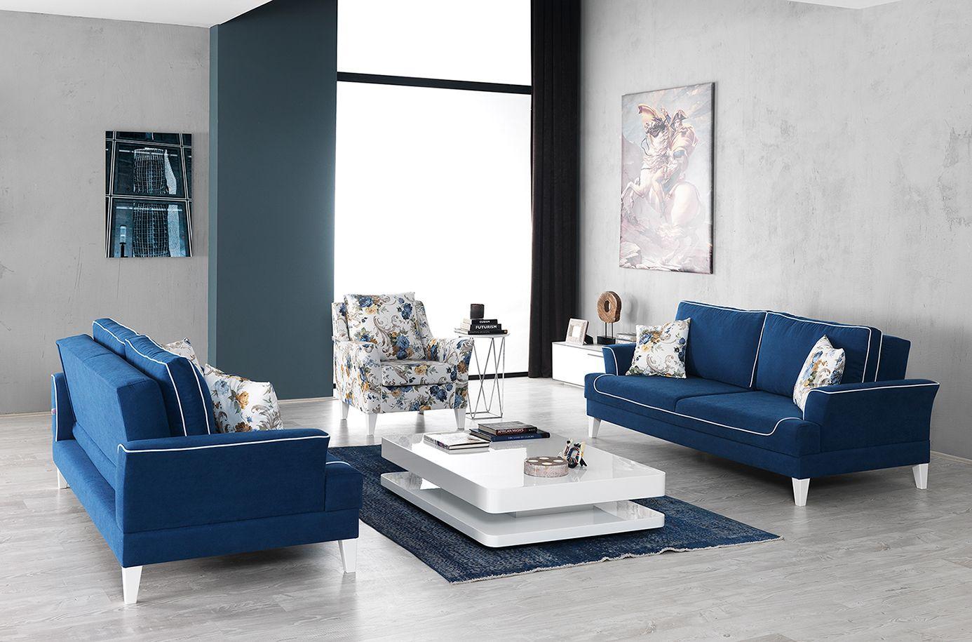 Modern beyaz koltuk tak mlar - The Living Spaces Bloom Bubon Sofa Sets Ya Am Alanlar N Za I Ek A T Ran Bubon Koltuk Tak M Http Www Idermobilya Com Pinterest