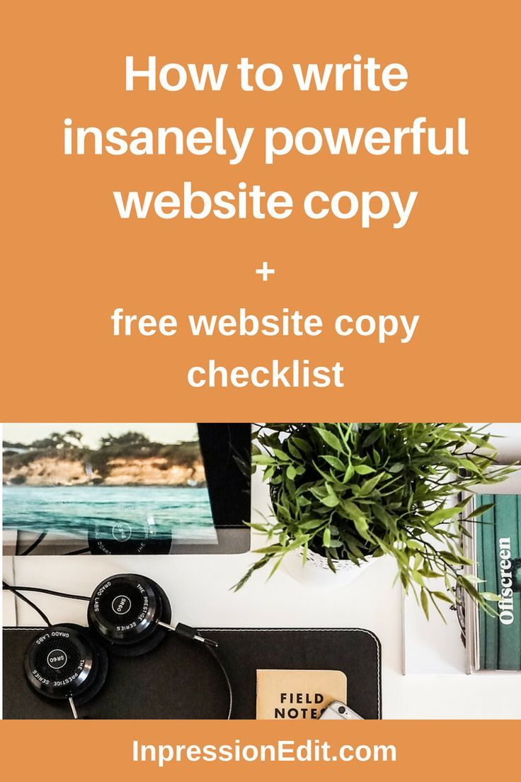 13 practical tips for writing insanely powerful website copy