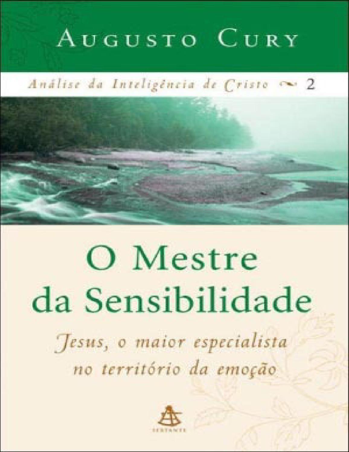 Analise Da Inteligencia De Cristo Vol 2 O Mestre Da Sensibilidade