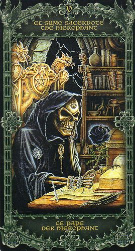 Alchemy 1977 England Tarot- The Hierophant