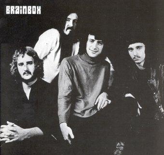 Brainbox (left to right): Jan Akkerman (guitar), Kazimierz Lux (vocals), Pierre van der Linden (drums) and André Reijnen (bass).