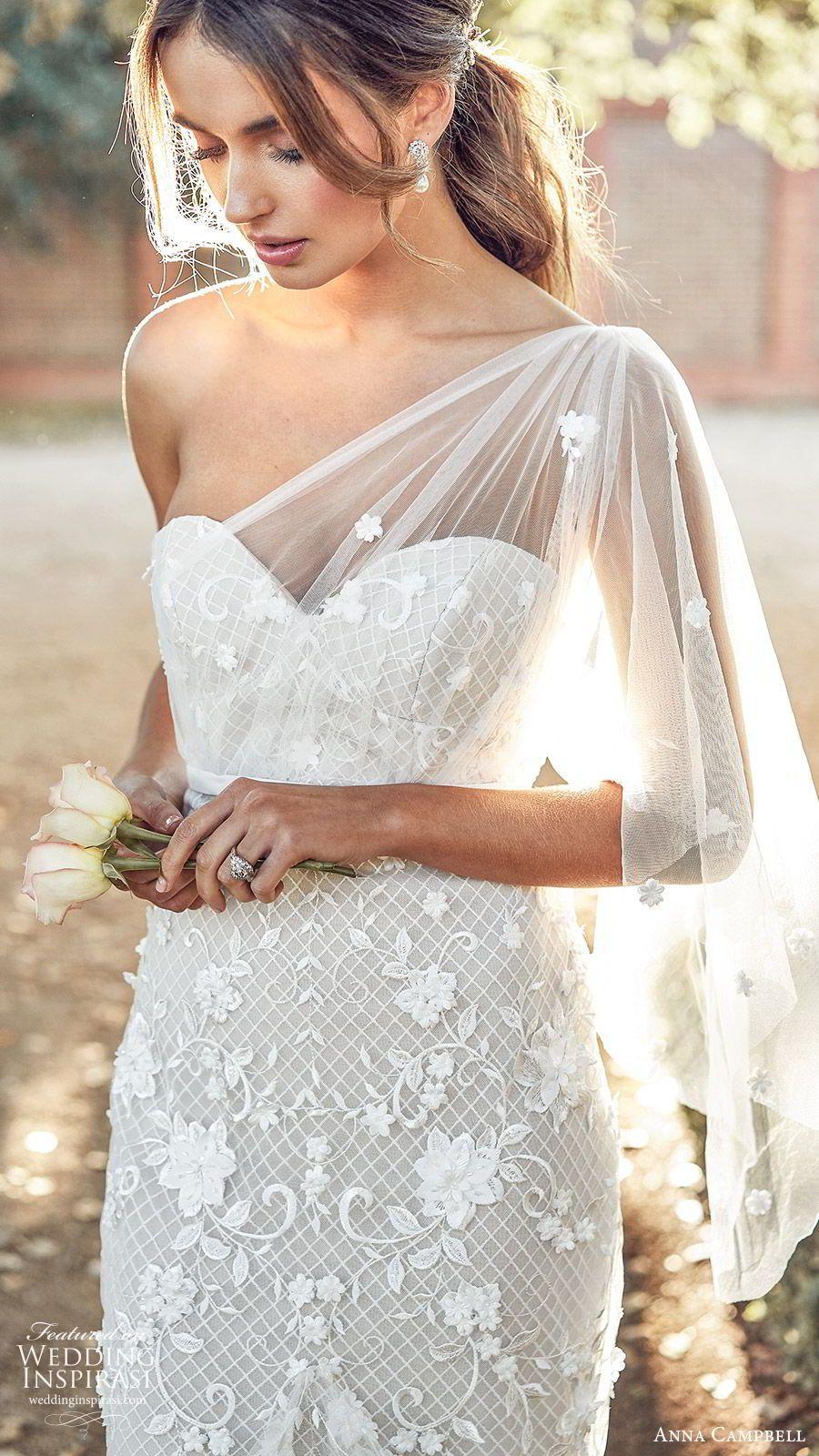 Anna Campbell 2020 Wedding Dresses Lumiere Bridal Collection Wedding Inspirasi Bridal Dresses Bride Gowns Moss Dress