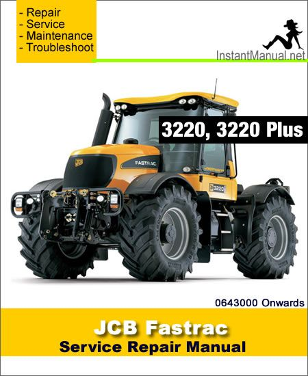 Download JCB 3220 Plus Fastrac Service Repair Manual PDF ... on