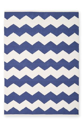 Cotton Chevron Rug From The Next Uk Online