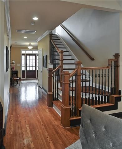 311 White Moss Place Franklin Tn Trulia Painted Stairs Stair   Cost Of New Banister And Spindles   Chris Loves Julia   Stair Parts   Stair Treads   Paint   Iron Stair