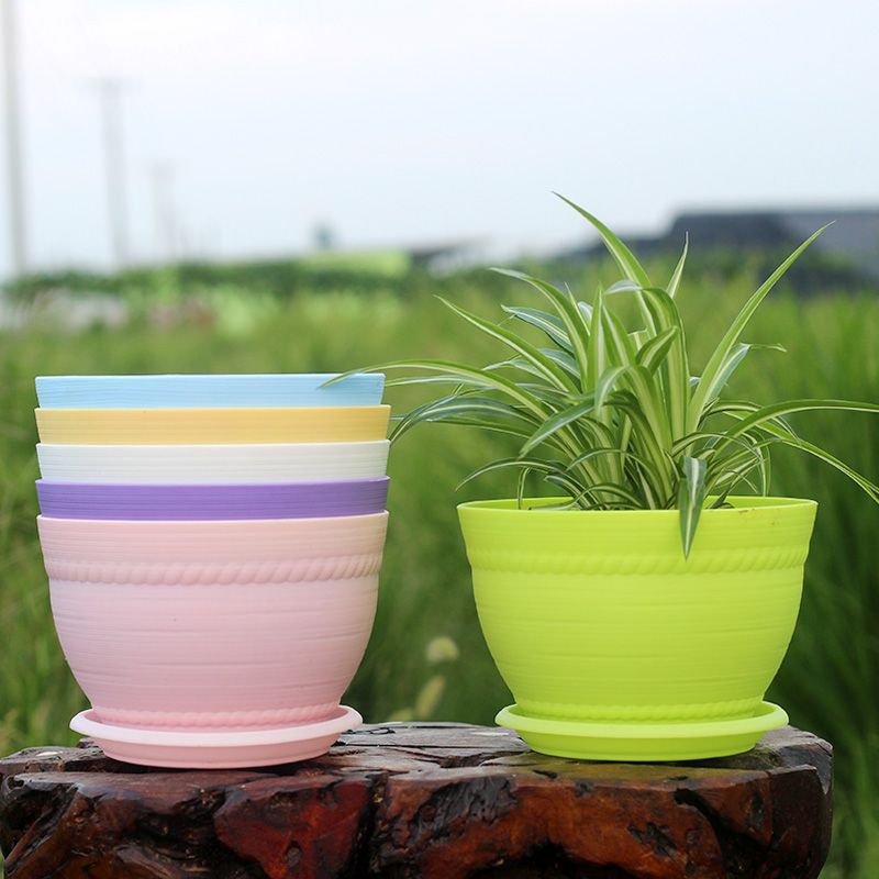 Pin by carolyn hamilton on patio plant shopping pinterest cheap plastic flower pots buy quality round plastic flower pot directly from china flower pot suppliers round plastic flower pots with saucer colorful workwithnaturefo