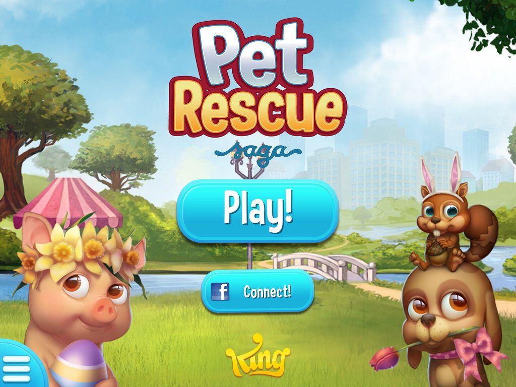 Pet Rescue Saga Spring Screenshot Pet Rescue Saga Animal Rescue Pets
